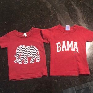 Other - Alabama shirts Uni-sex